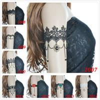 All'ingrosso-Nuovo 2015 14 stili Bracciale da sposa vintage Deluxe Ciondola il braccio del braccio in pizzo Bracciale Accessori moda Miglior regalo amante Caldo