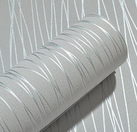 Great wall modern beige striped wallpaper for bedroom living...