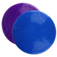 32 سنتيمتر pvc نفخ اليوغا الكرة سادة الاستقرار الرصيد القرص تدليك وسادة حصيرة الكرة اللياقة بممارسة التدريب الكرة ل رياضة المنزل