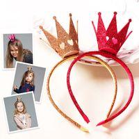 Hair Things Kids Hair Bows Childrens Hairbows Girls Accessory Crown Hair Bows Baby Accessories C16885