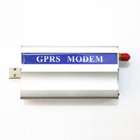 명령 SMS 850 / 900 / 1800 / 1900Mhz에 GSM 전산 통신기 Wavecom Q24plus 단위 USB 공용 영역