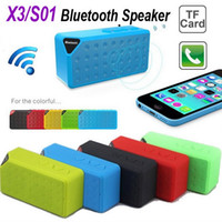 X3 OY Mini Portable Cube Wireless Bluetooth Speaker TF FM Su...