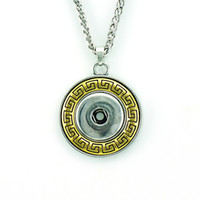 Brand New Pendants Necklaces Gold Plated Round 18mm Ginger S...