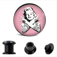 Marilyn Monroe fake you shape ear plugs for man and women su...