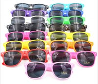 DHL Free shipping Colorful Candy Sunglasses unisex colorful ...
