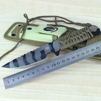 STRIDER Qualitäts-440 Messer Strider HT Fest Klinge Outdoor Survival Messer Jagdmesser taktisches Rettungsmesser Handwerkzeuge