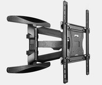 Staffa di montaggio a parete per TV retrattile di alta classe per trasporto di gocce in acciaio inox da 30-70 pollici TV