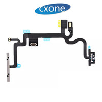Para iPhone 7 7G plus Original Botón de encendido de repuesto Volumen Side Key Flex Cable con soportes de metal DHL gratis