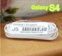 J5 Earphone for Samsung Galaxy S4 S5 3. 5mm flat noodle Headp...