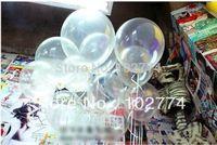 250 unids / lote envío gratis ventas al por mayor 12 pulgadas claro globos, globos transparentes, boda / fiesta / brithday decoración