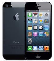 تم تجديده الأصلي Apple iPhone 5 مع بطارية LCD الأصلية الأصلية IOS 9.0 16GB / 32GB / 64GB 8MP الهاتف المحمول مقفلة