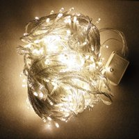 50m 400 أضواء led مصباح المتعري مجموعة أضواء عطلة في الهواء الطلق للماء فانوس الإضاءة سلسلة المناظر الطبيعية مصباح 50 متر 400 مصباح