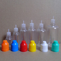PET Needle Bottles with Childproof Cap and Long Thin Dropper...