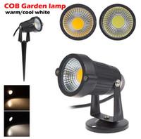 LED المشهد الإضاءة LED بقعة مصابيح AC85-265V 3 واط 5 واط dc12v في الهواء الطلق waterpoof الصمام ل حديقة الحديقة حديقة الديكور أضواء مسار الديكور