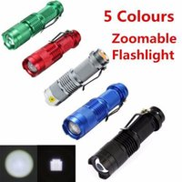 New Arrival 5 Colors Mini LED Flashlight CREE Q5 1200LM Wate...