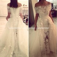 2015 Two Pieces Zuhair Murad Wedding Dresses with Detachable...