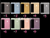 glitter bling screen protectors full body for iphone 5 5s 6 ...