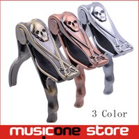 Alice Acoustic Capo Bronze A007H Quick Change Trigger Key Sk...