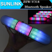2017 Newest JHW- V318 Bluetooth speaker Pulse Pill LED Flash ...