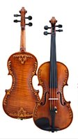 Violino 4 4 Musical instrument, 100% Handmade Advanced Italia...