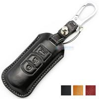 Porte-clés Muti-Color pour Mazda CX-5 Axela 3 Atenza 6 Mazda CX-7 Portefeuille de portefeuille Véritable Couverture en cuir Véritable Pièces auto pour Mazda