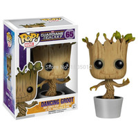 Marvel Hot Toys 10CM Funko PoP Danza Groot Toy Guardiani della Galassia Vinyl Groot Toys