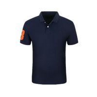 Polo Camisas Homem Verão Homens Polo Famosa Marca Bordado Logo Algodão Polos Masculino Manga Curta Moda Plus Size S-2x