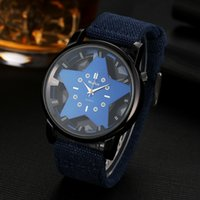 2018 NEW usa Unisex Watches fashion five- pointed star hollow...
