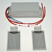 Generatore di ozono portatile purificatore d'aria 7G 220/110 V / 110V / 12V + 2PCS 3.5G Placca in ceramica (accessorio del generatore di ozono) Detergente dell'aria dell'ozonatore