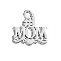 Бесплатная доставка Новая мода Легко DIY 30 шт. # 1 Мама Подвески для любви Мать Ювелирные Изделия для ожерелья или браслета