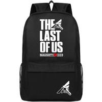 آخر منا على ظهره حزمة غيبوبة يوم بارد حقيبة مدرسية لعبة packsack الجودة حقيبة الظهر الرياضة المدرسية daypack daypack