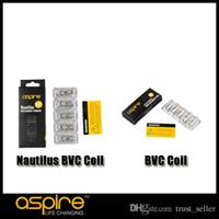 Аутентичные Aspire Nautilus BVC катушка для Nautilus Mini Tank Aspire BVC катушка для CE5 CE5-S ET-S Vivi Nova BVC BDC распылителей
