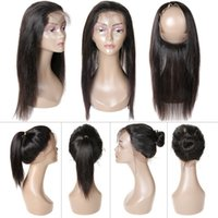 360 Lace Frontal Closure 8A Lace Frontals With Baby Hair Nat...