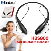 HBS800 Headsets HBS- 800 Wireless Bluetooth 4. 0 Stereo Headse...