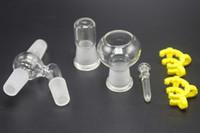 Reclaim Ash Catcher 14.4mm 18.8mm Homme Joint adaptateur en verre avec Keck clip Oil Bowl Récupérateur pour le verre Bong Oil Rig
