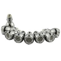 De quartzo dupla bobina de cera ecig vape bobina globo de vidro caneta atomizador de cerâmica Núcleo de cabeça para globo de vidro bulbo atomizador - 03