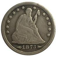 1873-S جالس ليبرتي كوارتر نسخة مجانية SHIPPIN