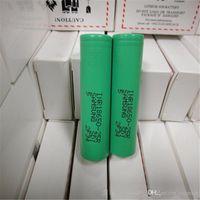 100% de Alta Qualidade 25R 18650 INR Bateria 2500 mAh 3.7 V 20A Recarregável De Lítio inr 18650 Baterias Celular Para E Cig Caixa Mod Fedex