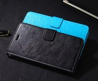 화웨이 명예 4A의 경우 상업 원래 다채로운 지갑 플립 커버 화웨이 명예 4A에 대한 귀여운 울트라 얇은 슬림 고급 가죽 케이스