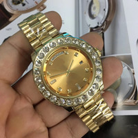 Fashion New Luxury AAA watches Day Date 18K Gold Automatic M...