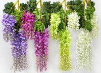 Fashion Hot Romantic Artificial Flowers Simulation Wisteria ...