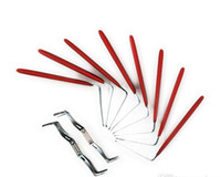 Locksmith Tools HUK One Head Hook Pins For Auto pick Door Lock Pick Tool-8 pcs set Lock Pick Sets Locksmith Supplies
