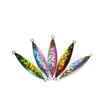 Hot Sale 6PCS Slow Jigging Lure Laser Lead Fish Lure 20g- 200...
