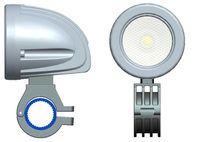 Gratis frakt 2 tum 12V / 24V 800LM 10W Vattentät LED-arbete Ljus Körning Dimlampa för bil / motorcykel / båt