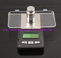LCD Mini 20pcs elettronica tascabile 200g x 0.01g monili dell'oro della scala della moneta Bilance digitali equilibrio portatile