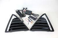 글로스 스타일 LED 자동차 DRL 안개 운전 램프 12v는 2012 년 포드 포커스 3을위한 턴 라이트와 함께 주간 주행 등을 이끌었다.