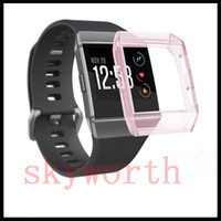 Clear Protective Cover Case For Fitbit Ionic Smart watch Tra...