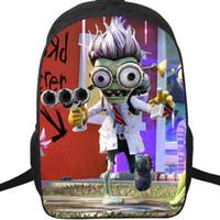 Dr Zomboss backpack Plants vs Zombies daypack PVZ boss schoolbag لعبة حقيبة الظهر الرياضة حقيبة مدرسية في الهواء الطلق حزمة اليوم.