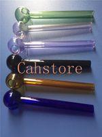 S-образные стеклянные трубы для табака бесплатная доставка!Прямая стеклянная кастрюля стеклянная чаша воды курительная трубка (50 шт. лот)