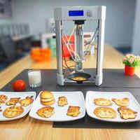 2019 العلامة التجارية الجديدة الرئيسية المستخدمة سطح المكتب مصغرة الطباعة حجم الغذاء فطيرة آلة طابعة 3D للبيع